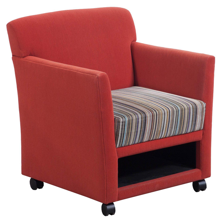 Martin Brattrud Used Mobile Lounge Chair Red Orange