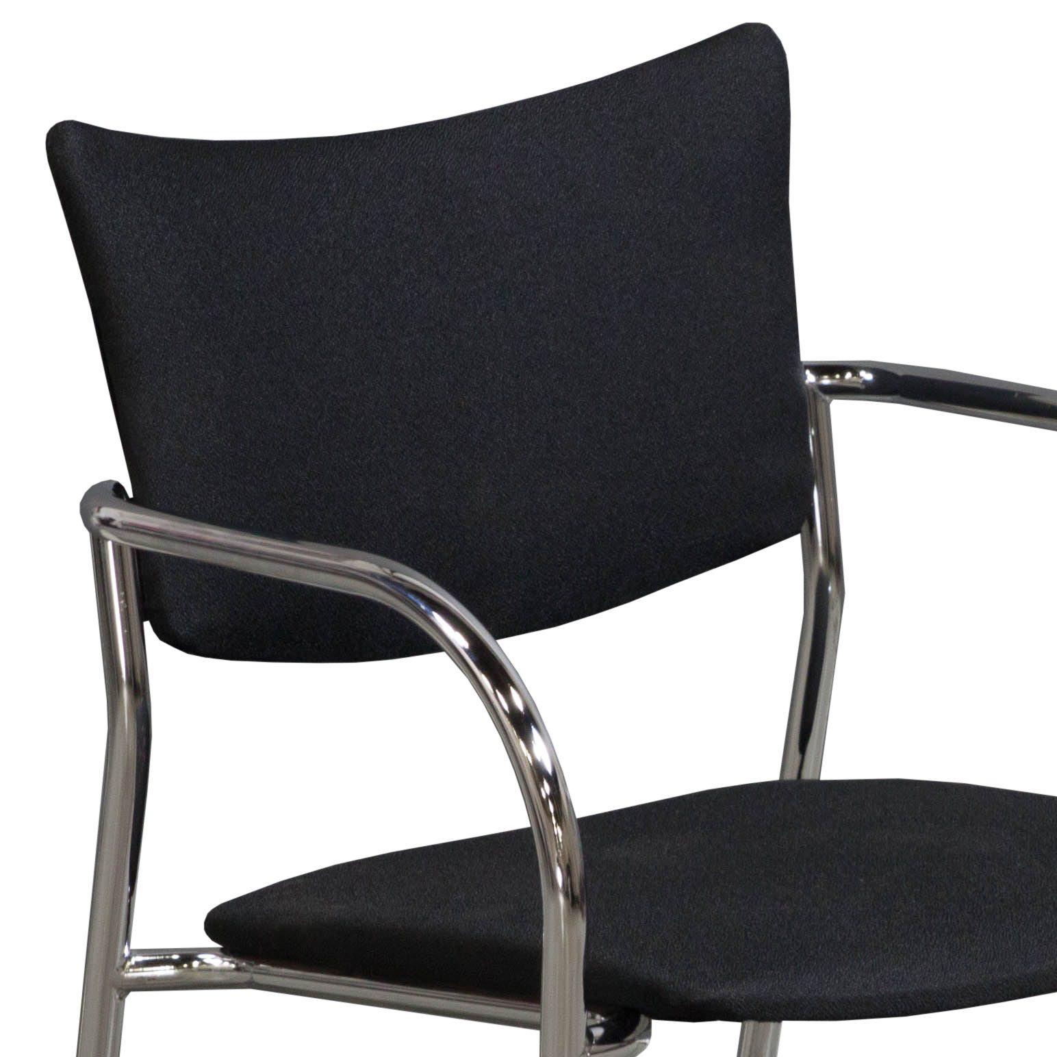 Versteel Companion in Black Fabric - Arm