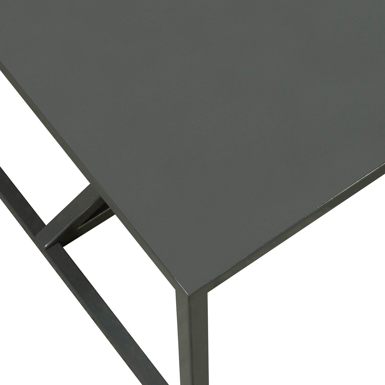 Blu Dot Strut Used Metal Coffee Table Slate