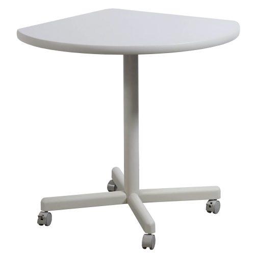 Corner Mobile Table Off White