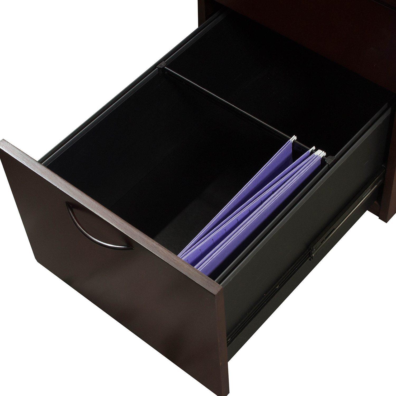Kimball Used Veneer Left Return U Shape Desk With Bow Top