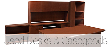 Used Desks and Case Goods