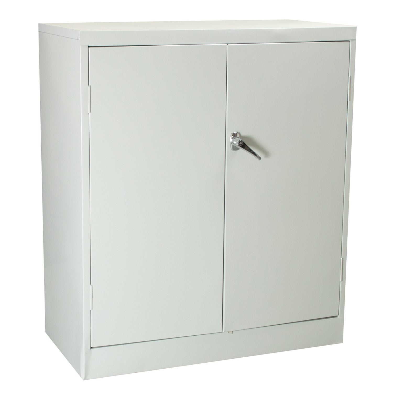 Anderson Hickey Used 2 Shelf 36 Inch Storage Cabinet