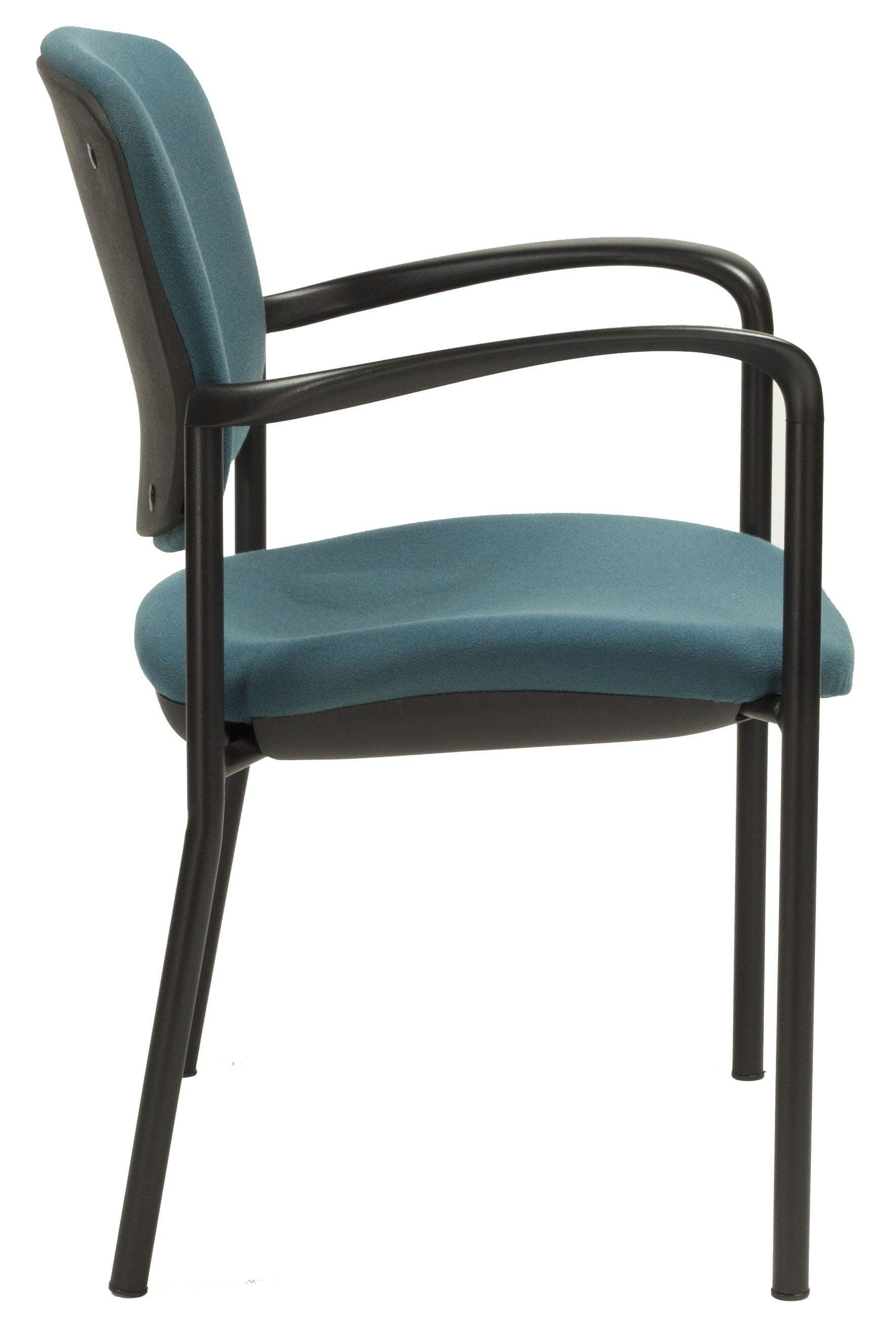 Haworth Improv Used Stack Chair Dark Teal National