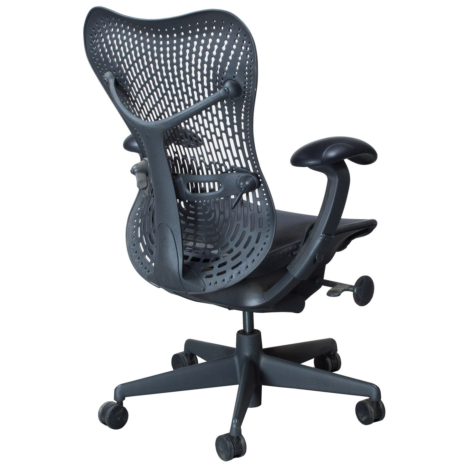 Herman Miller Mirra Used Mesh Seat Task Chair Graphite