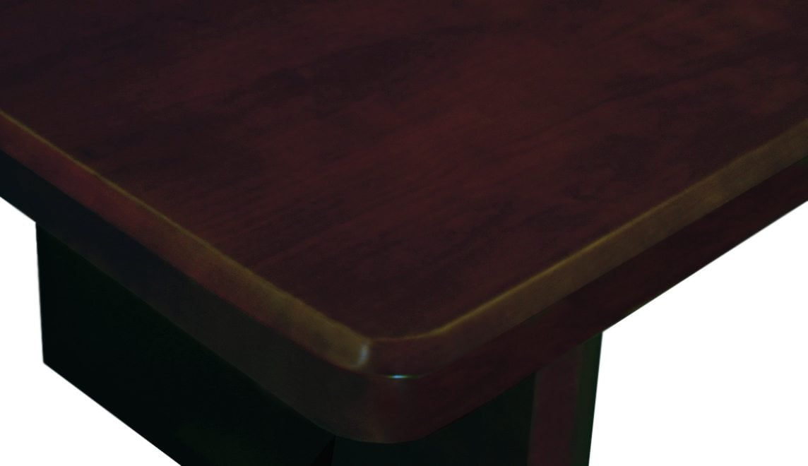 Associate Series Wood X Foot Conference Table Walnut - 4 foot conference table