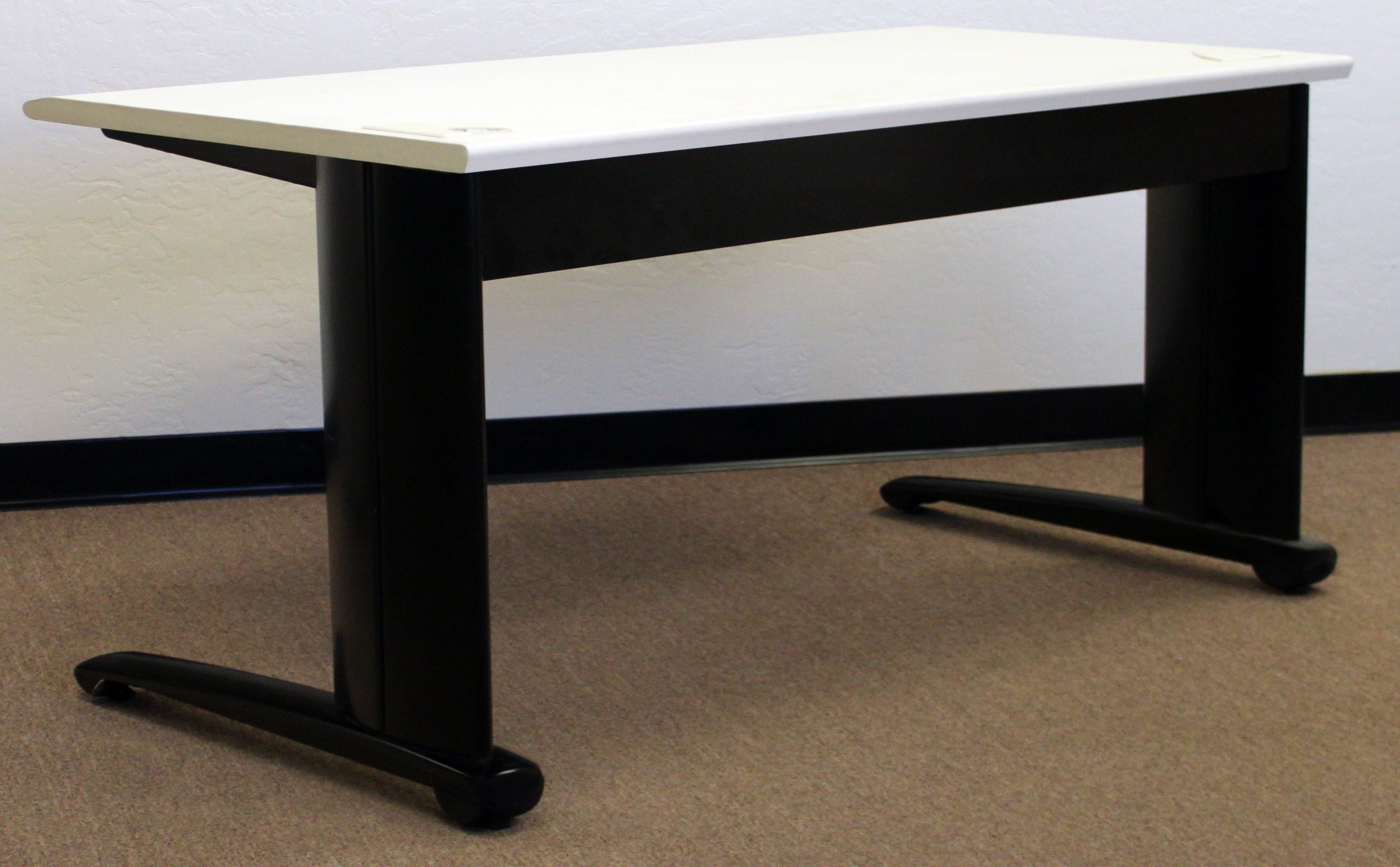 Steelcase Used White 72 Inch Training Table National