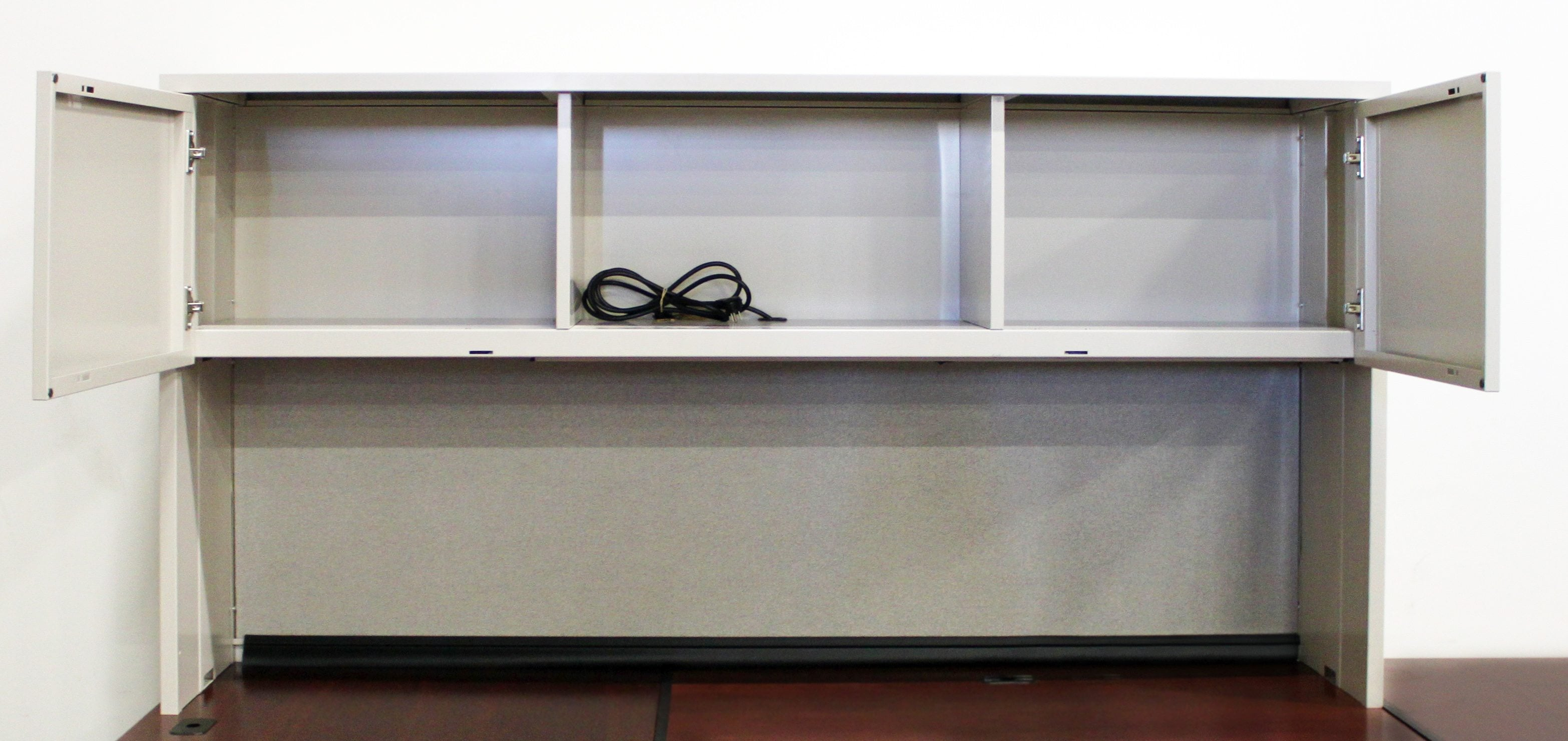 Steelcase Used U Shape Left Return Desk With Storage Hutch