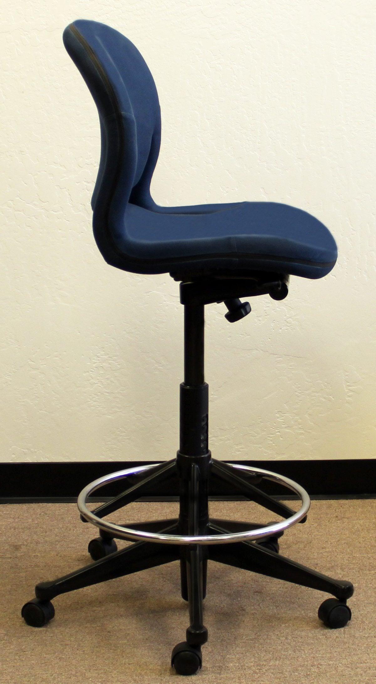 Herman Miller Used Equa Stool Blue National Office