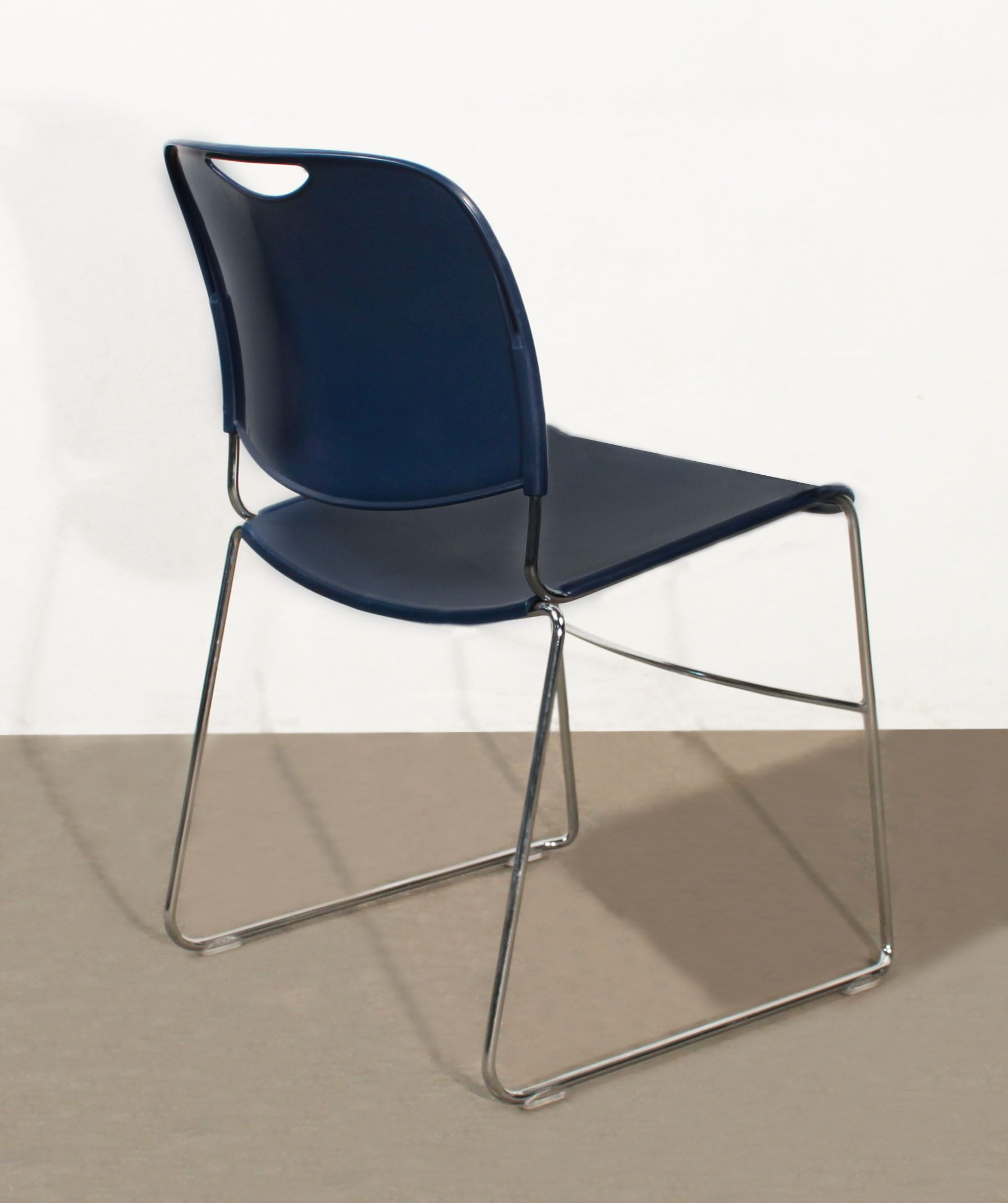 FSFG Hercules Used Stack Chair, Blue