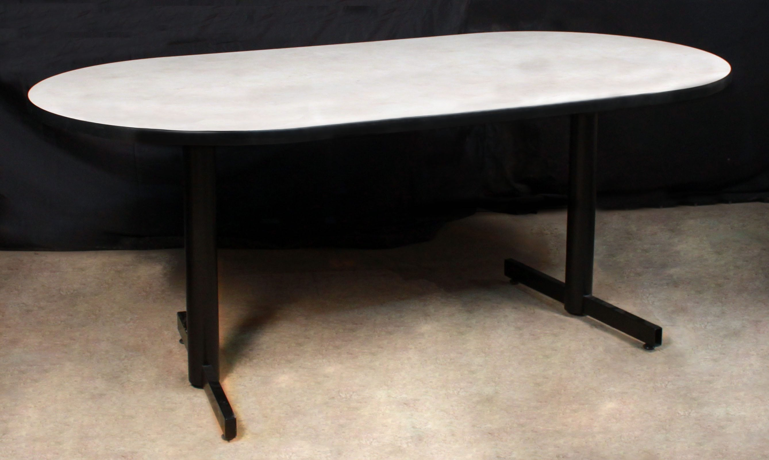 Oval Used Foot Conference Table National Office Interiors And - Oval conference table for 6