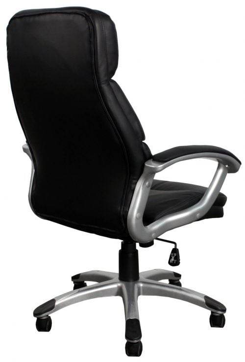 Inside Job New Leather Executive Chair Black Back View