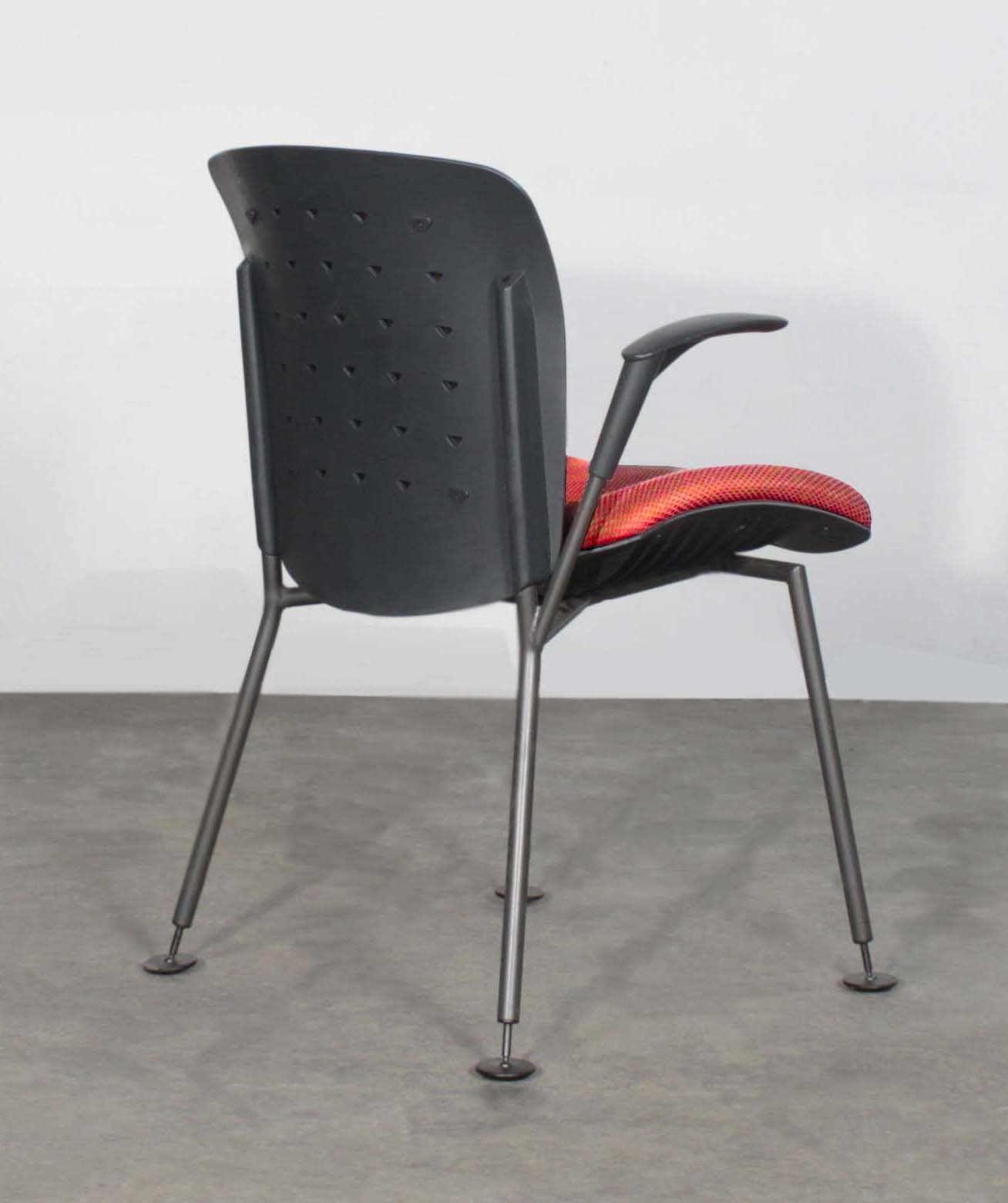 Sitag Used Vito Visitors Chair Red National Office Interiors And