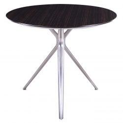 Louis Veneer Top Meeting Table Black