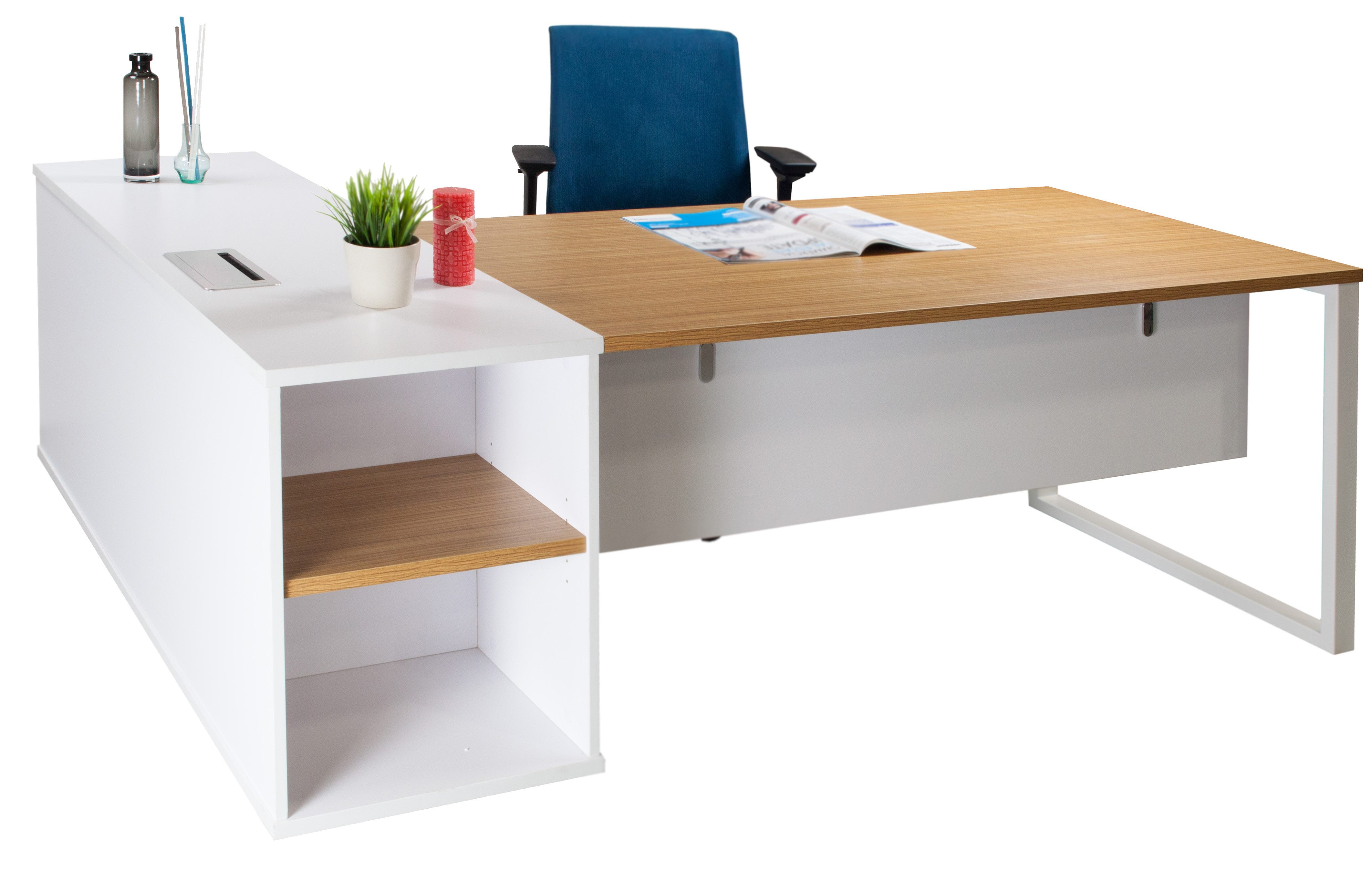 l bestar white pro small concept hutch desk shaped with raw