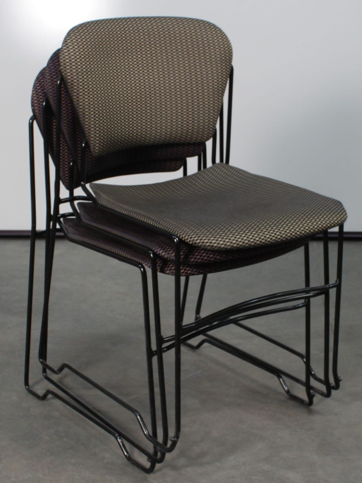 Ki Perry Used Stack Chair Patterned National Office