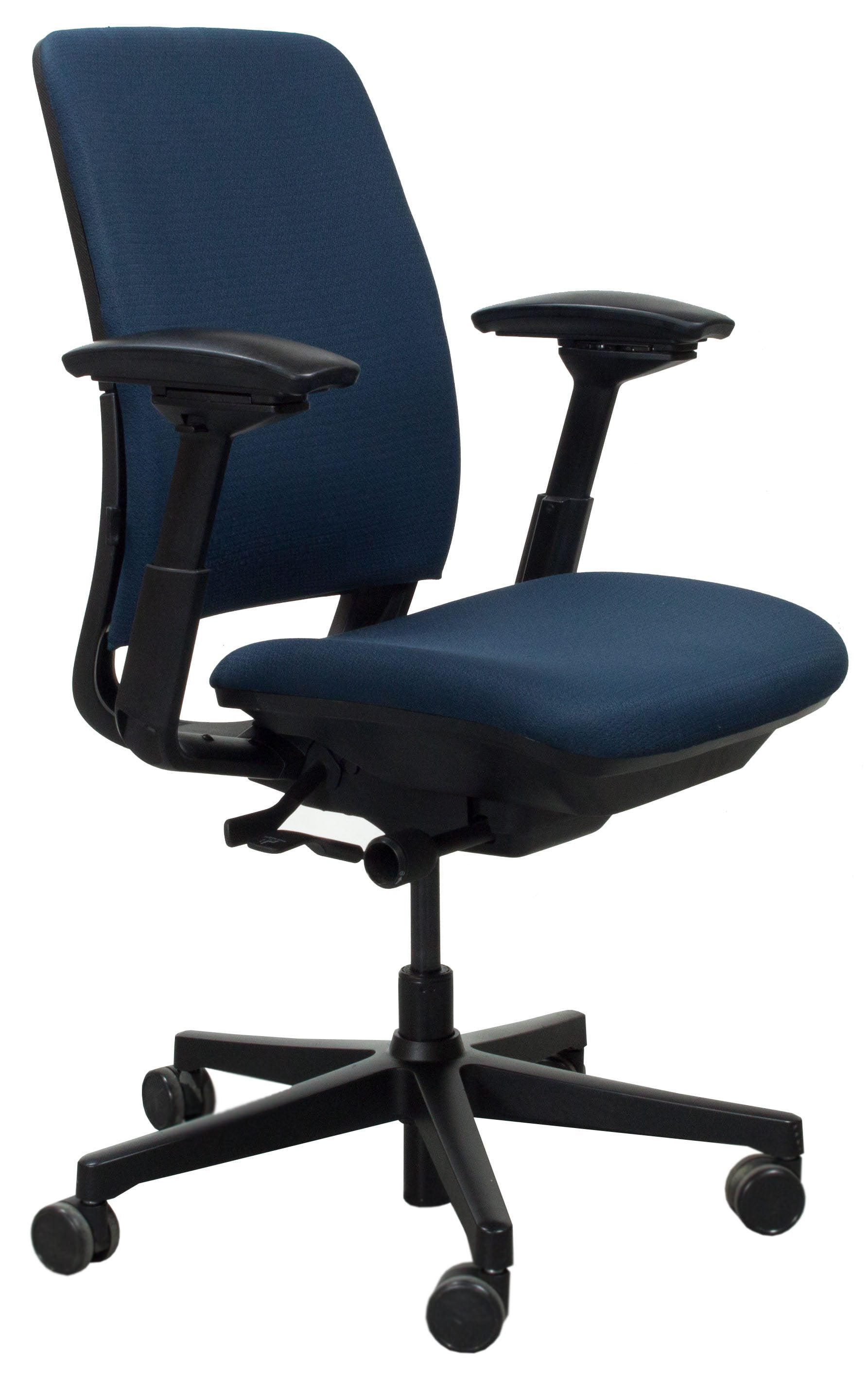 Steelcase Amia Used Task Chair Blue National Office