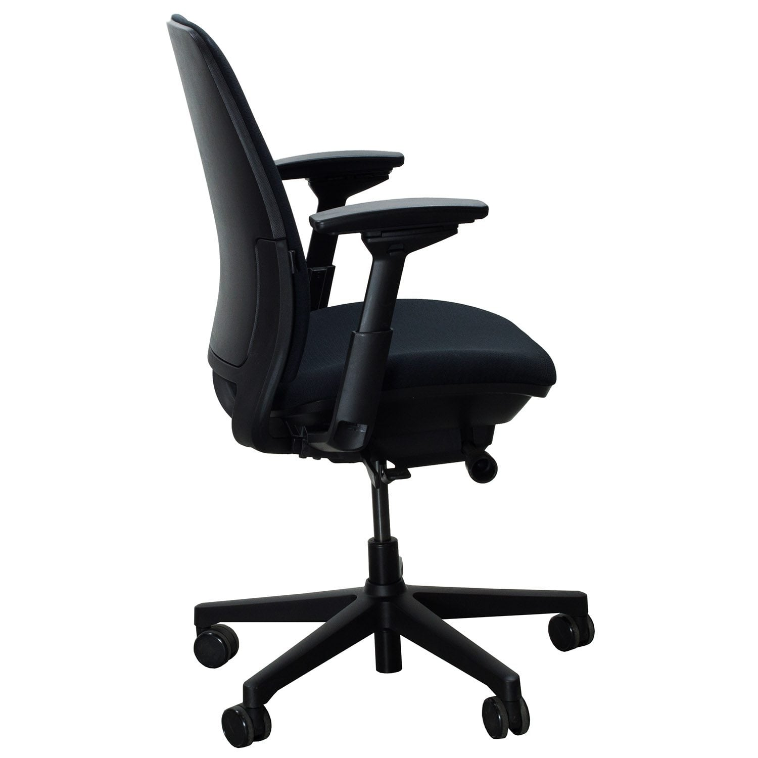 steelcase amia used task chair black national office interiors