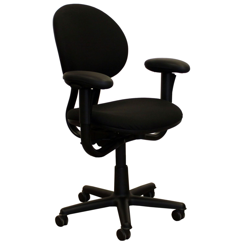 Steelcase Criterion Series Used Task Chair Black