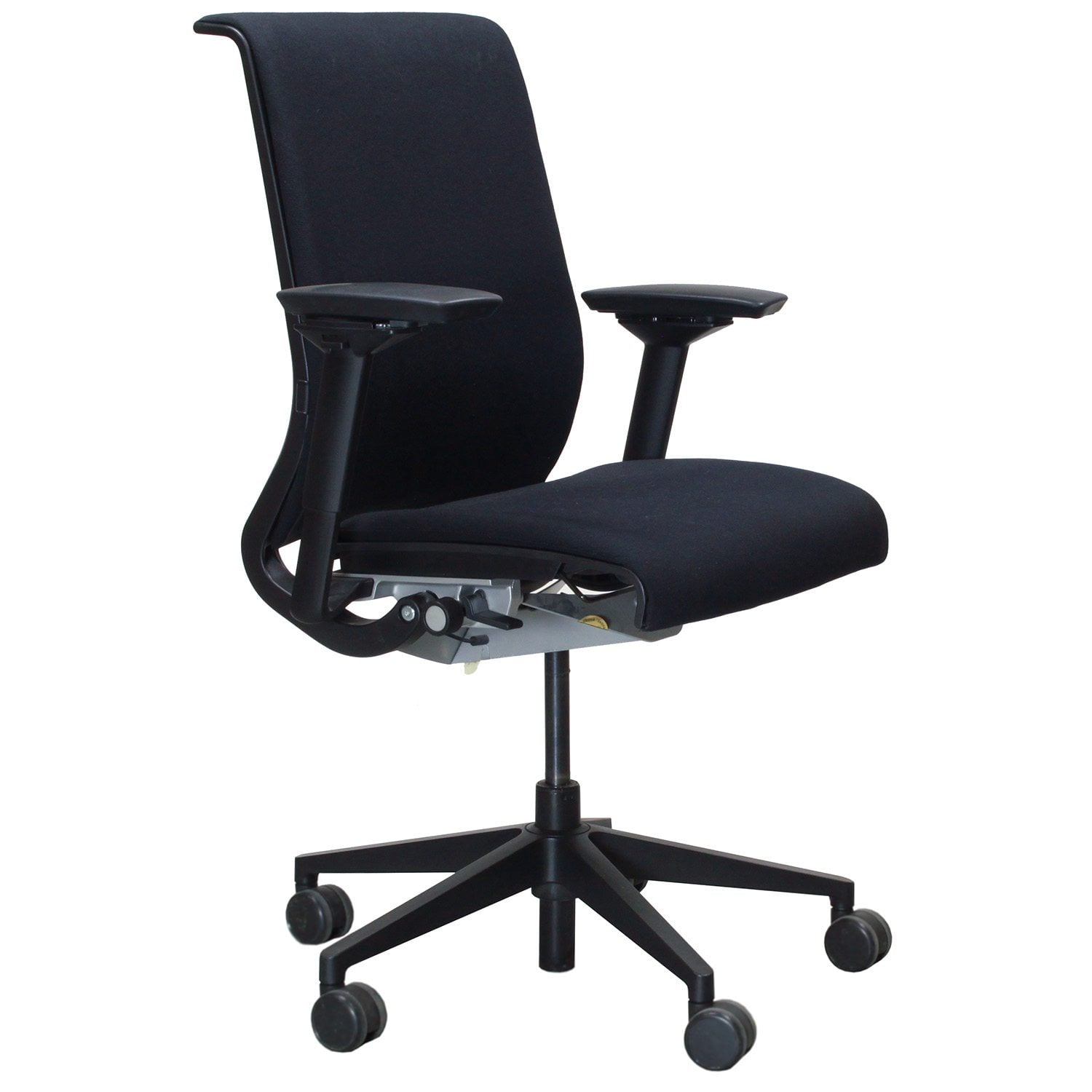 Steelcase Think Office Chair Nickel Steelcase Think Used Task Chair National Office Interiors And Liquidators Steelcase Think Used Task Chair Black National Office Interiors