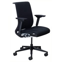 Steelcase Think Used Task Chair Black Front View