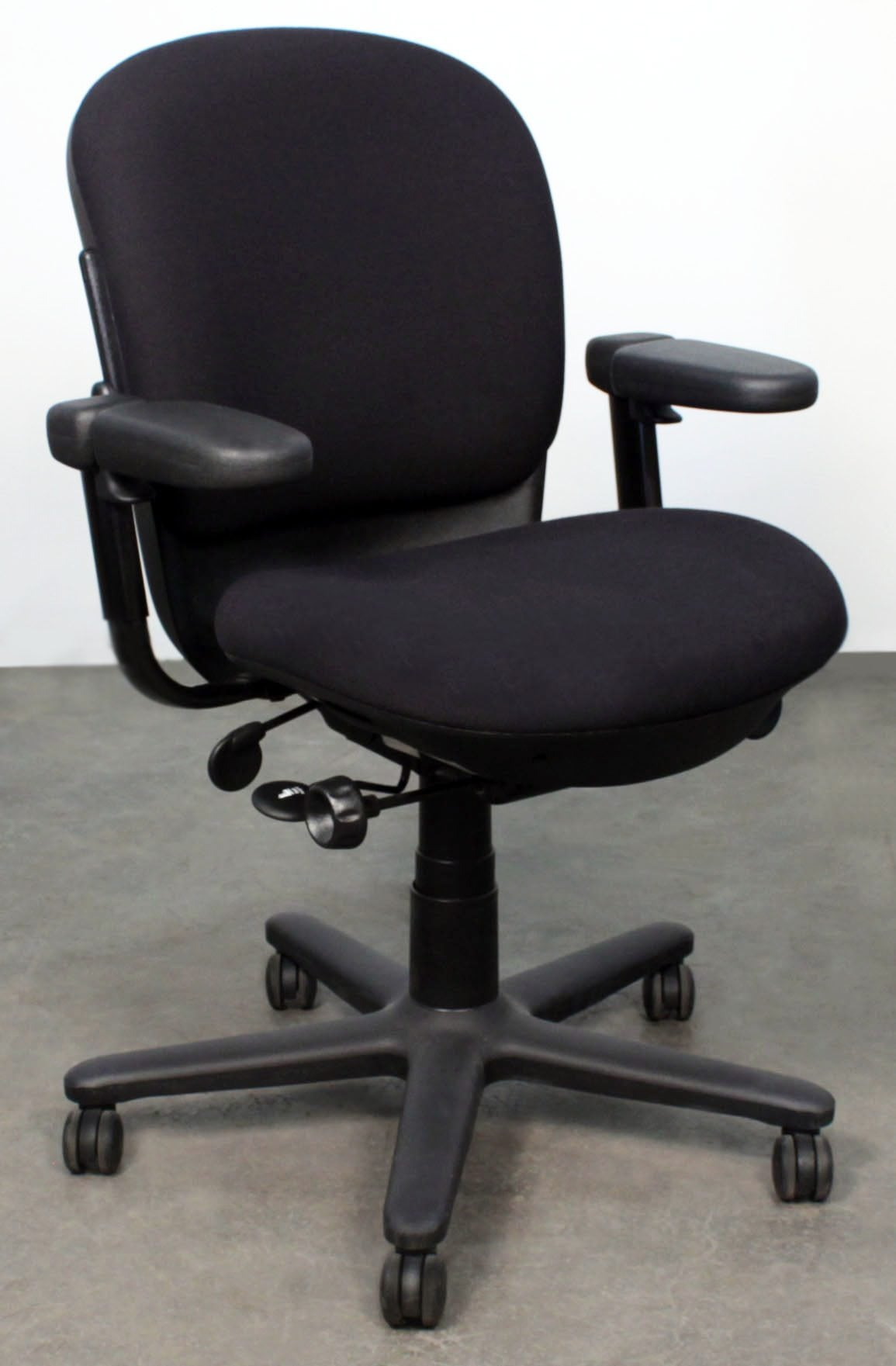 Steelcase Drive Used Task Chair Black National Office