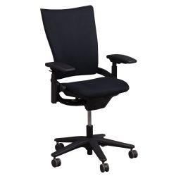 Allsteel Sum Black Task Chair - Front