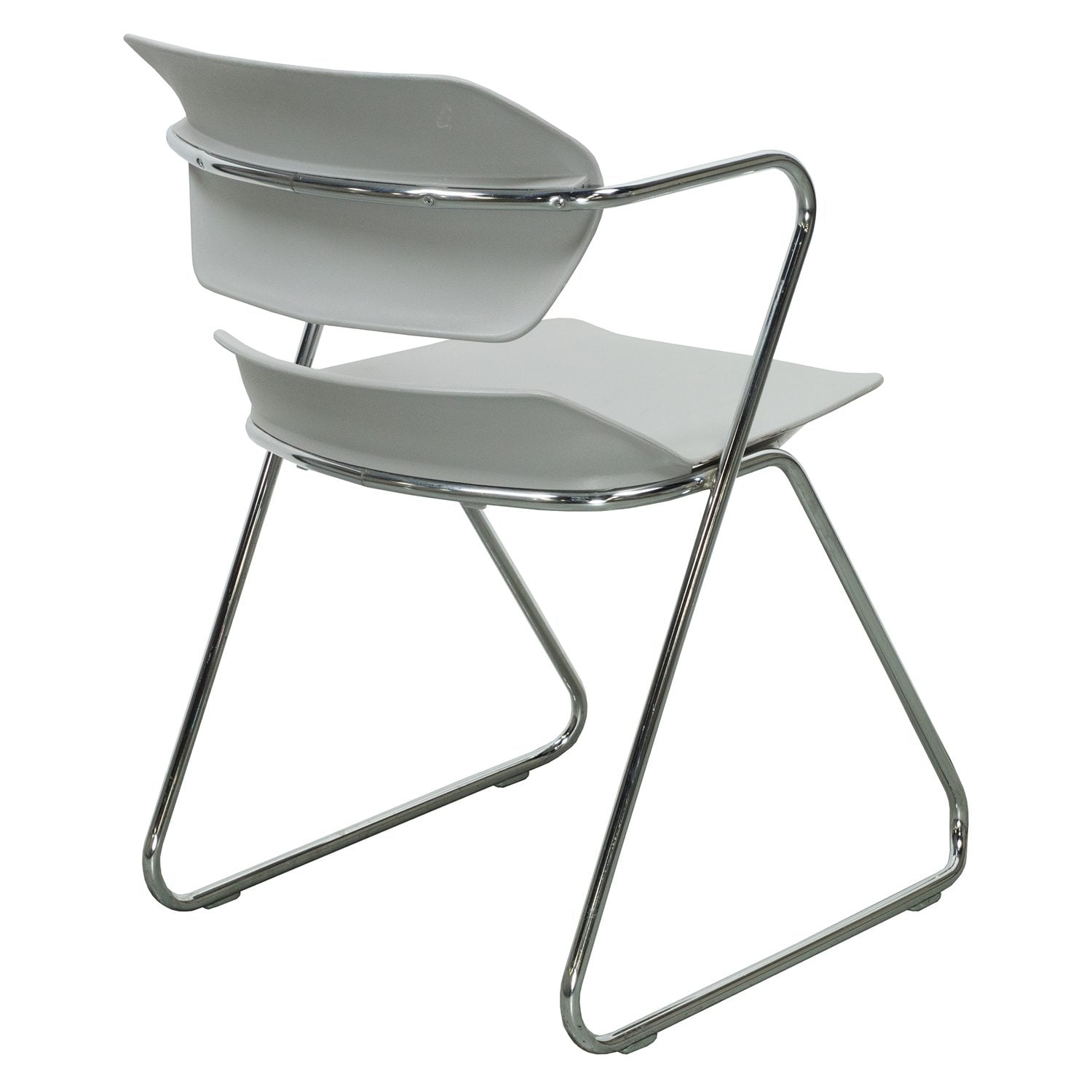 American Seating Acton Stacker Used Stack Chair Gray