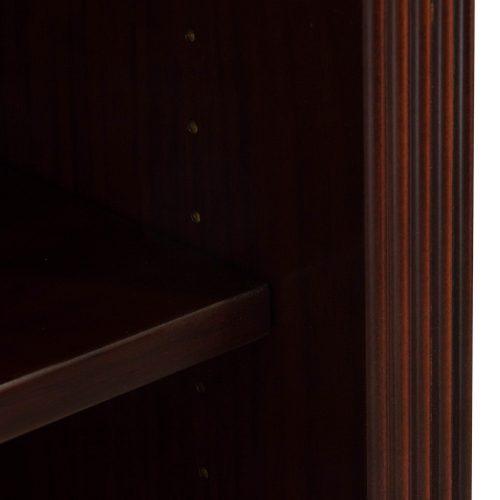 Arlington Walnut Bookcase - Edge