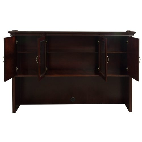 Arlington Walnut Hutch - Open