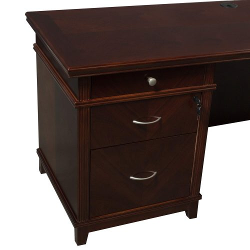 Arlington U-Shape Desk Left Return - Back Pedestal