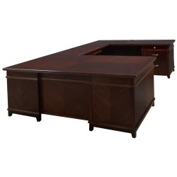 Arlington U-Shape Desk Right Return - Front