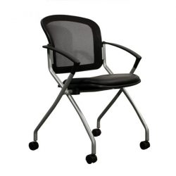 Beacon by goSIT New Nesting Chair on Casters Black