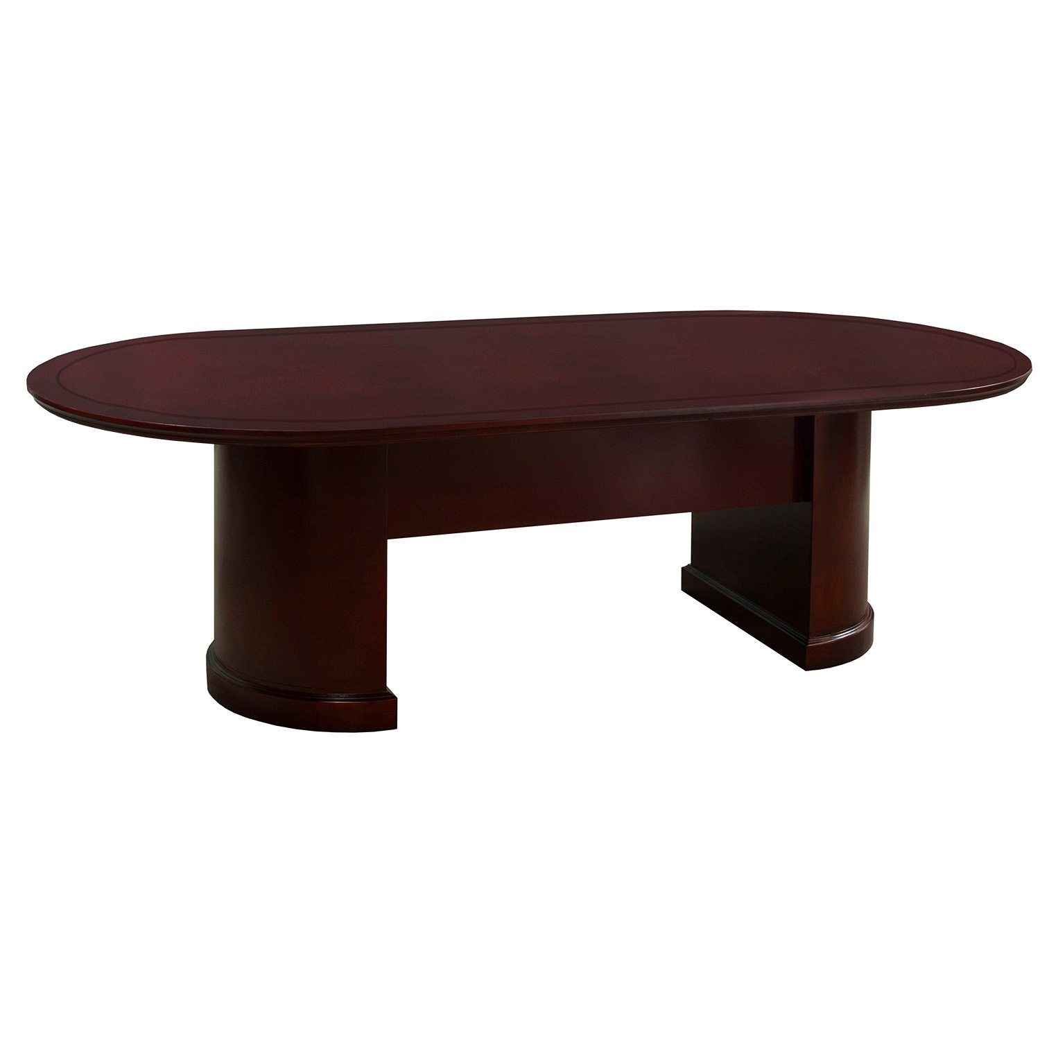 Superb Cambridge 8 Foot Conference Table Mahogany Home Interior And Landscaping Transignezvosmurscom