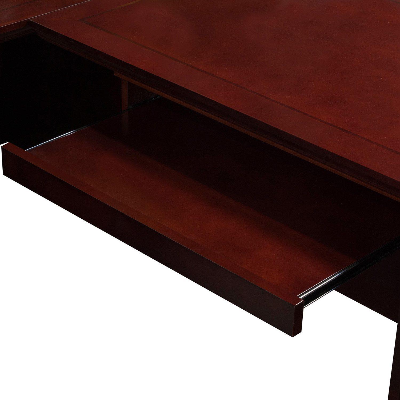 Cambridge L Shape Right Return Desk Keyboard Tray