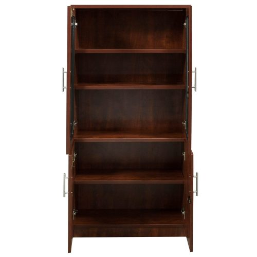 goSIT Everyday Cherry Glass Bookcase - Inside