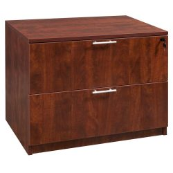 goSIT Everyday Cherry 2 Drawer Lateral File
