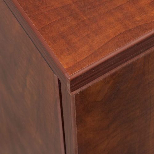 goSIT Everyday Cherry 2 Drawer Lateral File - Corner
