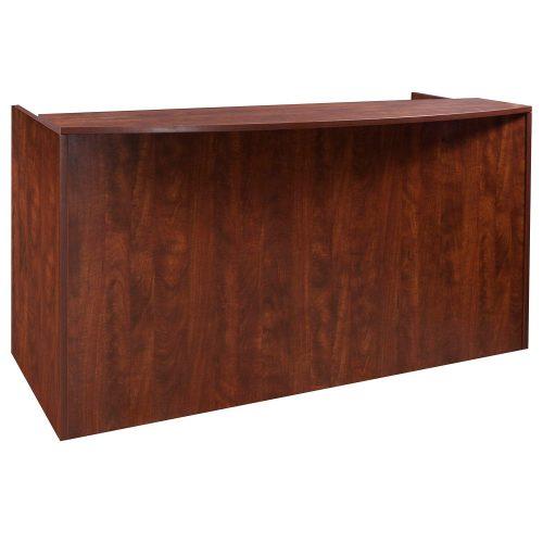 goSIT Everyday Cherry Reception Desk - Front View
