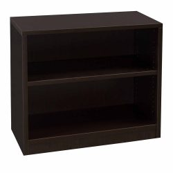 Everyday Espresso 30 in 2 Shelf Laminate Bookcase