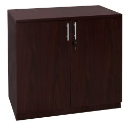 Everyday Mahogany 36 inch Laminate Storage Cabinet