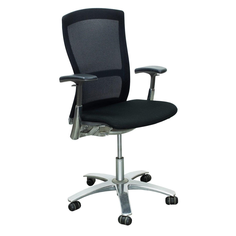 Knoll Life Used Mesh Back Task Chair Black National