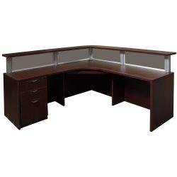 goSIT Rio Series Reception Desk - Inside