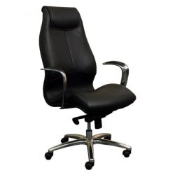 Adrian by goSit Modern Leather Executive Chair Black