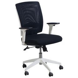 goSIT Storm Mesh Task Chair in Black -Front