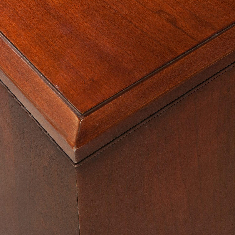 Kimball Used Desk Set Cherry National Office Interiors