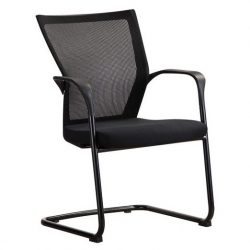 Bay by goSit Mesh Back Side Chair Black