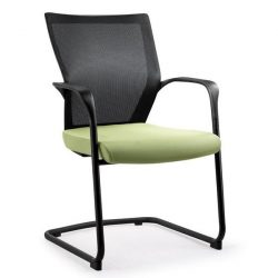 Bay by goSit Mesh Back Side Chair Green and Black
