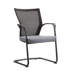 Bay by goSit Mesh Back Side Chair Gray and Black