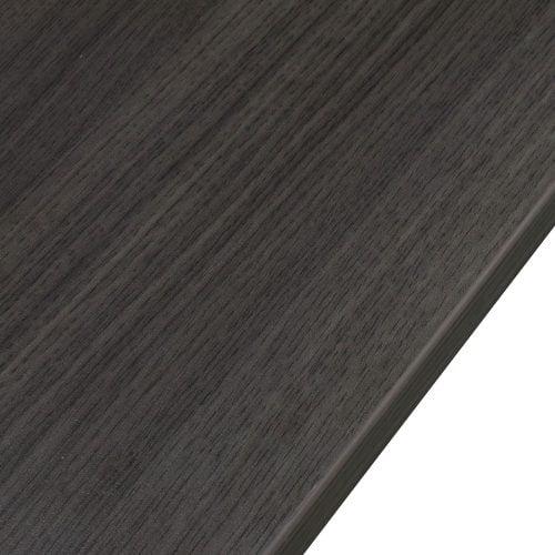 goSIT Everyday Gray 24x48 Single Pedestal Desk - Edge
